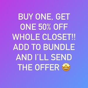 COPY - Buy One, Get One 50% Off Sale on Whole Clo…